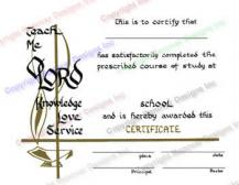111 Personalized Graduation Certificate