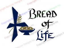 306 Bread of Life - Mass Card for the Living