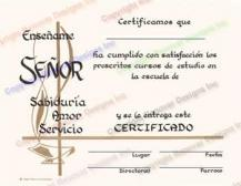 406 Personalized Spanish Graduation Certificate