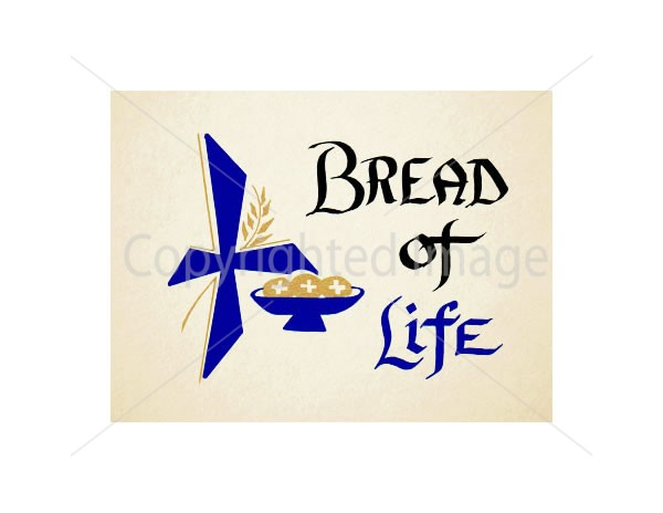 Bread of Life Mass Card for the Living