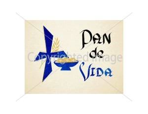 Pan de Vida Spanish Mass Card for the Living